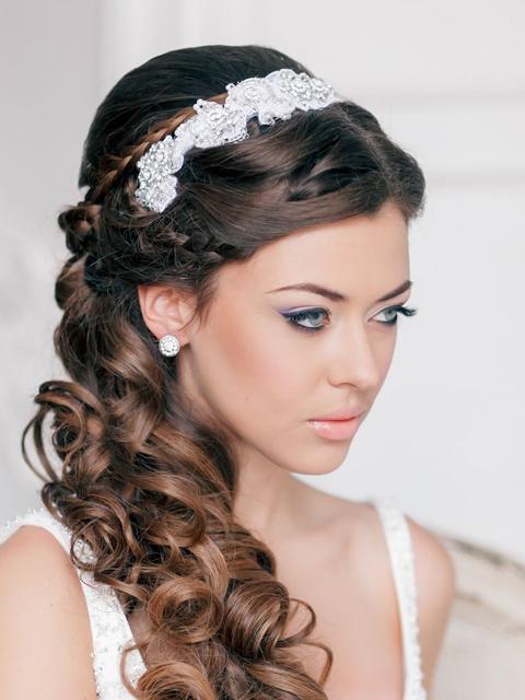 Пышные свадебные платья - красивые фото.